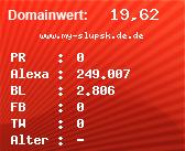 Domainbewertung - Domain www.my-slupsk.de.de bei Domainwert24.de