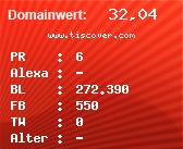 Domainbewertung - Domain www.tiscover.com bei Domainwert24.de