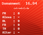 Domainbewertung - Domain cut-mobil.de bei Domainwert24.de