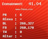 Domainbewertung - Domain www.9gag.com bei Domainwert24.de