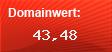 Domainbewertung - Domain google.com bei Domainwert24.de