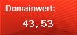Domainbewertung - Domain ebay.de bei Domainwert24.de
