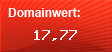 Domainbewertung - Domain www.religioese-geschenke.de bei Domainwert24.de