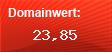 Domainbewertung - Domain www.facebook.de bei Domainwert24.de