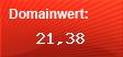 Domainbewertung - Domain www.cosmoshop.de bei Domainwert24.de
