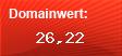 Domainbewertung - Domain www.feuerwehrversand.net bei Domainwert24.de