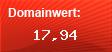 Domainbewertung - Domain www.david-berlin.de bei Domainwert24.de