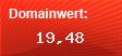 Domainbewertung - Domain www.wempe.de bei Domainwert24.de