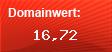 Domainbewertung - Domain weard.de bei Domainwert24.de