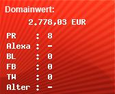 Domainbewertung - Domain savingsbondconnection.com bei Domainwert24.de
