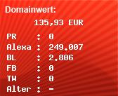 Domainbewertung - Domain www.big-auktionshaus.de.de bei Domainwert24.de