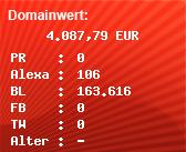 Domainbewertung - Domain www.elbstrand-radio.com.com bei Domainwert24.de
