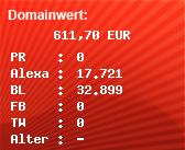 Domainbewertung - Domain venividiwhisky.ve.funpic.de bei Domainwert24.de