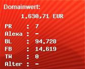 Domainbewertung - Domain www.germany.travel bei Domainwert24.de