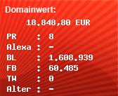Domainbewertung - Domain www.spiegel.de bei Domainwert24.de