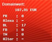 Domainbewertung - Domain www.trashkom.de bei Domainwert24.de