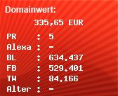 Domainbewertung - Domain www.youtube-mp3.org bei Domainwert24.de