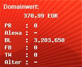 Domainbewertung - Domain www.phoenix.de bei Domainwert24.de