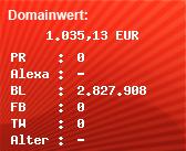 Domainbewertung - Domain www.anarieldesign.com bei Domainwert24.de