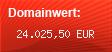 Domainbewertung - Domain apple.com bei Domainwert24.de