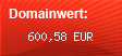 Domainbewertung - Domain herzje66.he.ohost.de bei Domainwert24.de