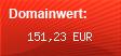 Domainbewertung - Domain keymandeluxe.de bei Domainwert24.de
