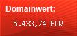 Domainbewertung - Domain www.studivz.net bei Domainwert24.de