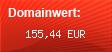 Domainbewertung - Domain sueddeutsche.de bei Domainwert24.de