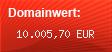 Domainbewertung - Domain www.karl.com bei Domainwert24.de
