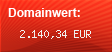 Domainbewertung - Domain www.omegle.com bei Domainwert24.de
