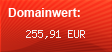 Domainbewertung - Domain www.megafun.yooco.de bei Domainwert24.de