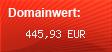 Domainbewertung - Domain www.mtv.de bei Domainwert24.de