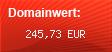 Domainbewertung - Domain www.bioplantage.com bei Domainwert24.de