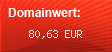 Domainbewertung - Domain www.mappeunserhof.de bei Domainwert24.de