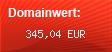 Domainbewertung - Domain www.transfermarkt.de bei Domainwert24.de