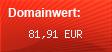 Domainbewertung - Domain www.musterdaten.de bei Domainwert24.de