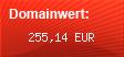Domainbewertung - Domain www.taxional.com bei Domainwert24.de