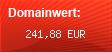 Domainbewertung - Domain innenminister.com bei Domainwert24.de
