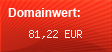 Domainbewertung - Domain www.juicygrowing.de bei Domainwert24.de