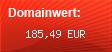 Domainbewertung - Domain bitcoin.org bei Domainwert24.de