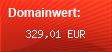 Domainbewertung - Domain www.baafmuhendislik.com bei Domainwert24.de