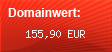 Domainbewertung - Domain www.enerqiworks.eu bei Domainwert24.de