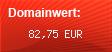 Domainbewertung - Domain www.prego.at bei Domainwert24.de